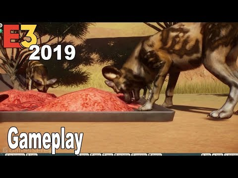 Planet Zoo - E3 2019 Gameplay Demo [HD 1080P]