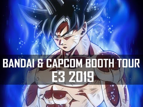 Bandai Namco and Capcom Booth Toour E3 2019