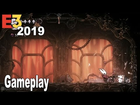 Hollow Knight: Silksong - E3 2019 Gameplay Demo [HD 1080P]