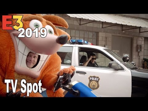 Crash Team Racing Nitro-Fueled - Crash Chase TV Spot E3 2019 [HD 1080P]