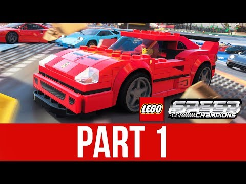 FORZA HORIZON 4 LEGO EXPANSION Gameplay Walkthrough Part 1 - THIS GAME IS AWESOME