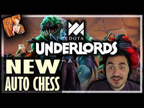 MORE NEW AUTO CHESS?! DOTA UNDERLORDS PREVIEW!