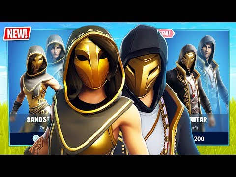New Sandstorm & Scimitar Skins! // Pro Fortnite Player // 2300 Wins (Fortnite Battle Royale)