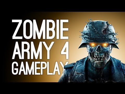 Zombie Army 4 Gameplay: ELECTRIC PUNCH! Let's Play Zombie Army 4 Dead War at E3 2019