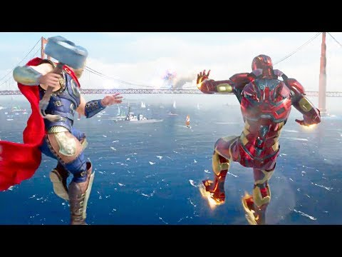 MARVEL'S AVENGERS: A-DAY - E3 2019 Extended Gameplay Trailer