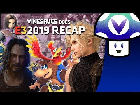 [Vinesauce] Vinny - E3 2019 Recap