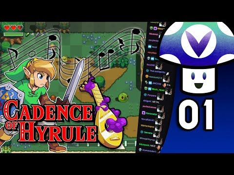 [Vinesauce] Vinny - Cadence of Hyrule (PART 1)