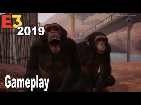 Planet Zoo - E3 2019 Extended Gameplay Demo [HD 1080P]