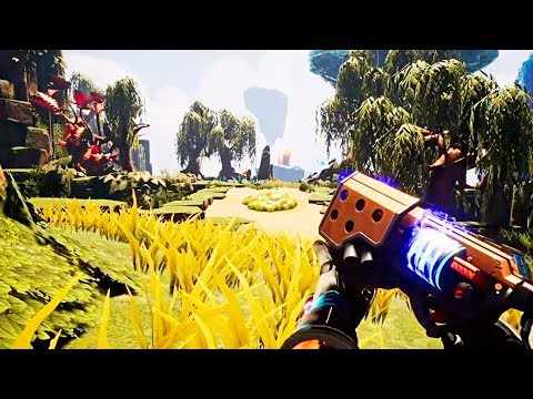 JOURNEY TO THE SAVAGE PLANET - E3 2019 Gameplay Demo