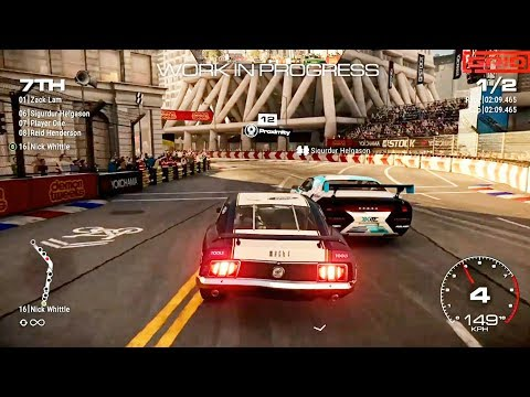 GRID - E3 2019 Gameplay Demo