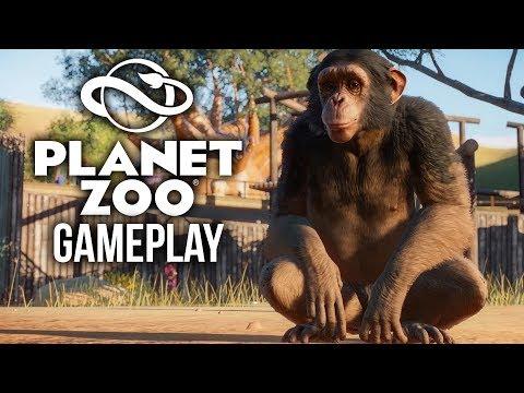 PLANET ZOO Gameplay - 15 Minutes of E3 Gameplay