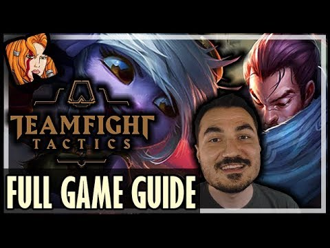 KRIPP TFT FULL GAME GUIDE! - Teamfight Tactics - LoL Auto Chess