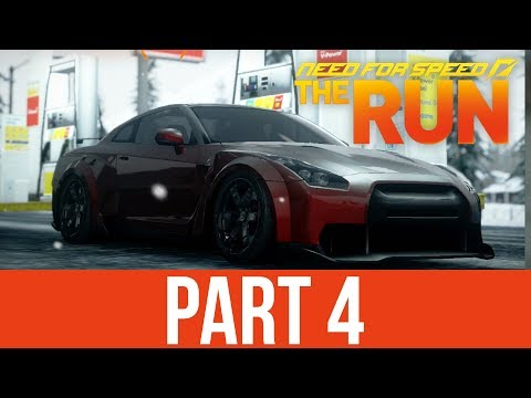 Need for Speed The Run Gameplay Walkthrough Part 4 - GT-R BODYKIT