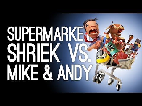 Supermarket Shriek Xbox One Gameplay: Mike & Andy Screaming! (Let's Play Supermarket Shriek)