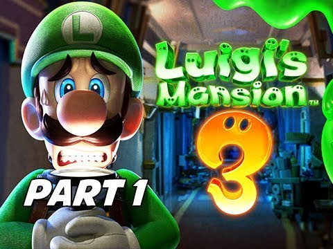 Luigi's Mansion 3 Gameplay Walkthrough Part 1 - Intro & First Boss!!! (Nintendo Switch)
