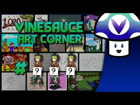 [Vinebooru] Vinny - Vinesauce Art Corner (PART 999)