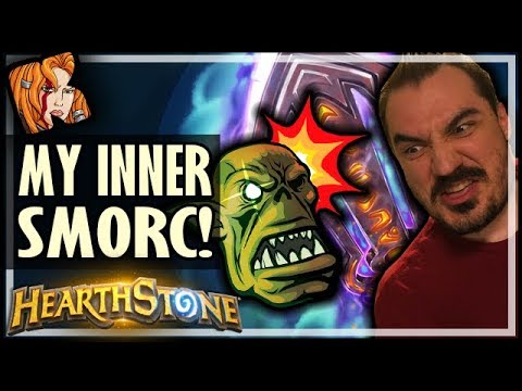 Channelling My Inner SMORC - Rise of Shadows Hearthstone