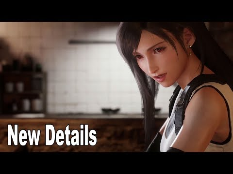 New Final Fantasy VII Remake details from Director Tetsuya Nomura [HD 1080P]