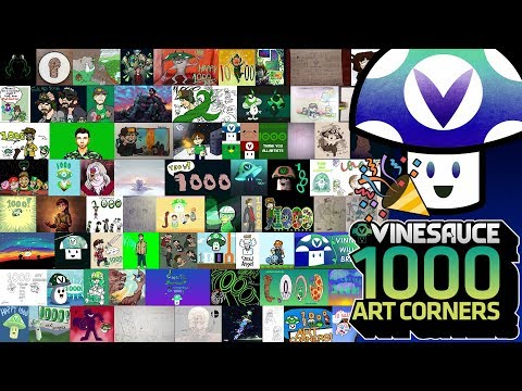 [Vinebooru] Vinny - Vinesauce Art Corner #1000