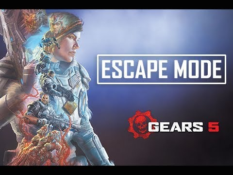 Gears of Wars 5 Escape Mode Gameplay Walkthrough
