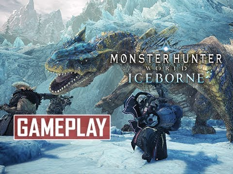 Monster Hunter World Iceborne Expansion Tigrex Gameplay Walkthrough