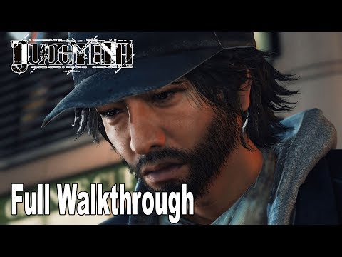Judgment - Full Game Walkthrough [HD 1080P]