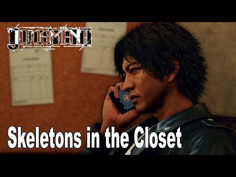 Judgment - Chapter 4: Skeletons in the Closet Walkthrough (English Audio) [HD 1080P]