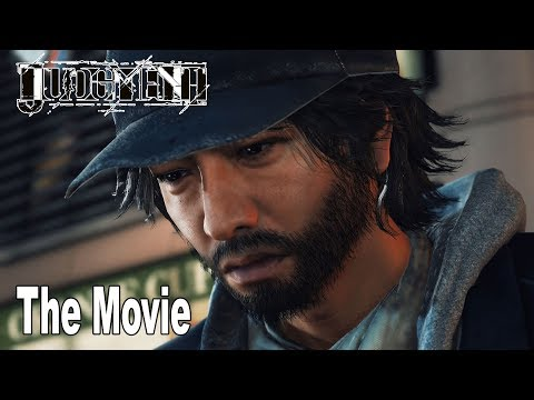 Judgment - The Movie All Cutscenes [HD 1080P]