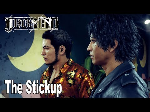 Judgment - Chapter 3: The Stickup Walkthrough (English Audio) [HD 1080P]