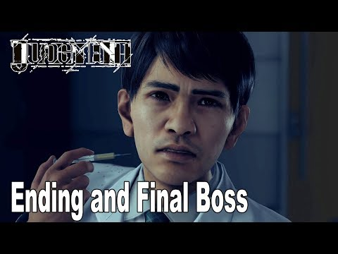 Judgment - Ending and Final Boss [HD 1080P]