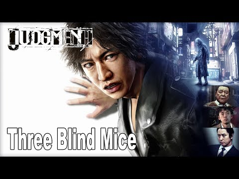 Judgment - Chapter 1: Three Blind Mice Walkthrough (English Audio) [HD 1080P]
