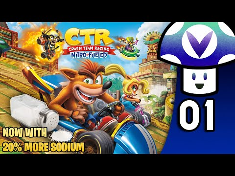 [Vinesauce] Vinny - Crash Team Racing Nitro-Fueled (PART 1)