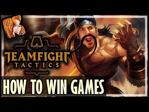 HOW TO WIN TFT GAMES - TOP GAME BREAKING COMBOS - Teamfight Tactics