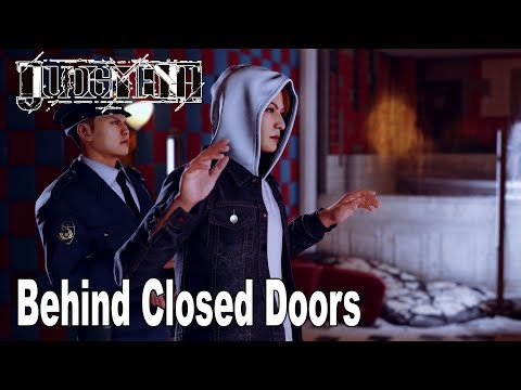 Judgment - Chapter 12: Behind Closed Doors Walkthrough (English Audio) [HD 1080P]