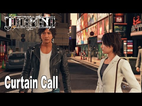 Judgment - Chapter 11: Curtain Call Walkthrough (English Audio) [HD 1080P]