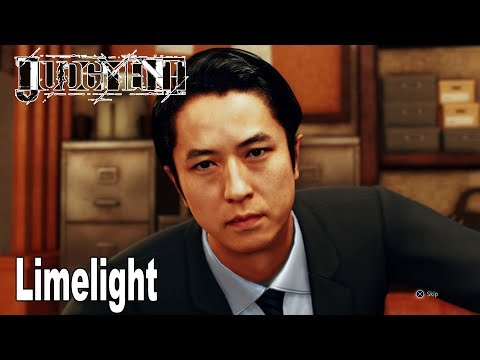 Judgment - Chapter 7: Limelight Walkthrough (English Audio) [HD 1080P]
