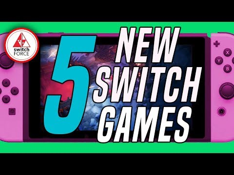 5 Crazy NEW Switch Games JUST ANNOUNCED!! (2019 Nintendo Switch Games)