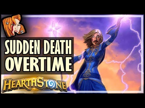 This Game Went Into SUDDEN DEATH Overtime - Rise of Shadows Hearthstone