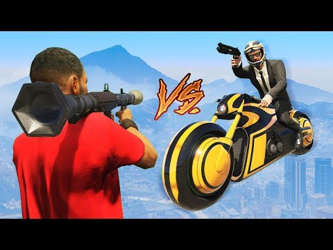 ROCKETS vs STUNTERS!! (GTA 5 Online)