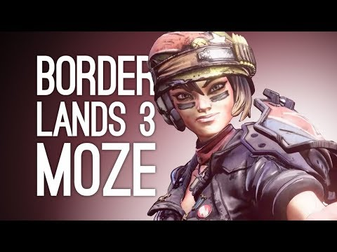 Borderlands 3 Moze Gameplay: IRON BEAR! (Let's Play Borderlands 3)