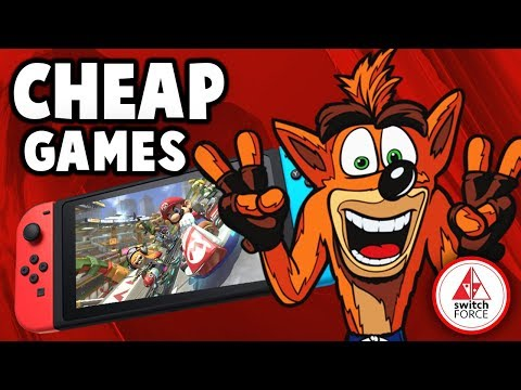 JUST RELEASED New Switch Games Sale! AWESOME PHYSICAL GAMES For Cheap!