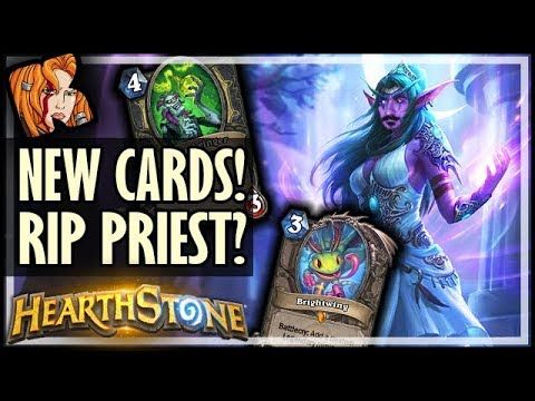 NEW CARDS! DID BLIZZ KILL PRIEST?! RIP Mind Blast & Vanish - Rise of Shadows Hearthstone