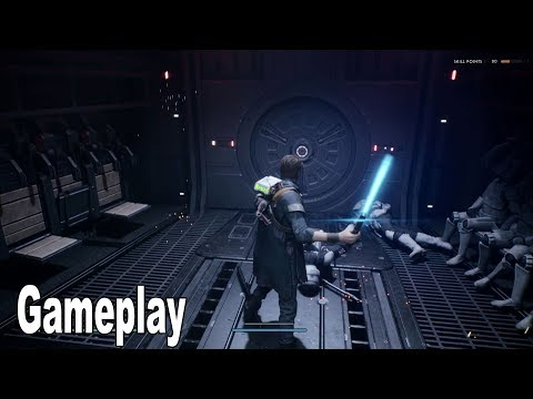 Star Wars Jedi: Fallen Order - Gameplay Demo Walkthrough Extended [4K 2160P/60FPS]