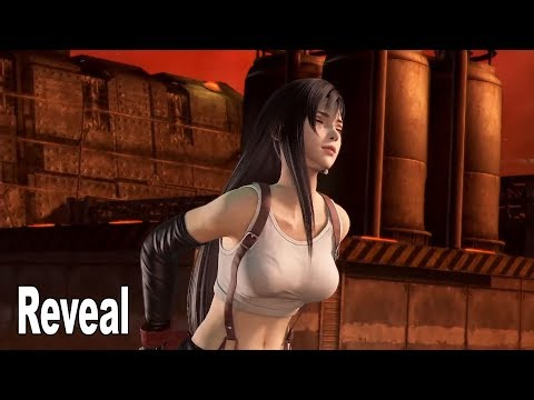 Dissidia Final Fantasy NT - Tifa Lockhart Reveal Trailer [HD 1080P]