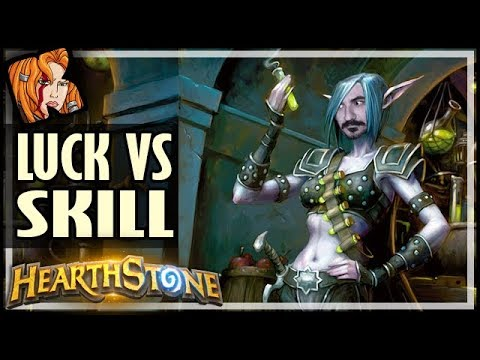 Incredible LUCK vs Impossible SKILL - Rise of Shadows Hearthstone