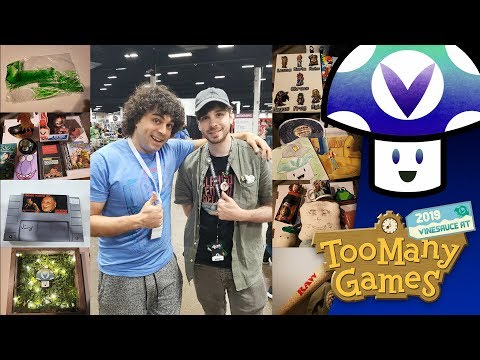 [Vinesauce] VineTalk - Too Many Games 2019 Quick Talk