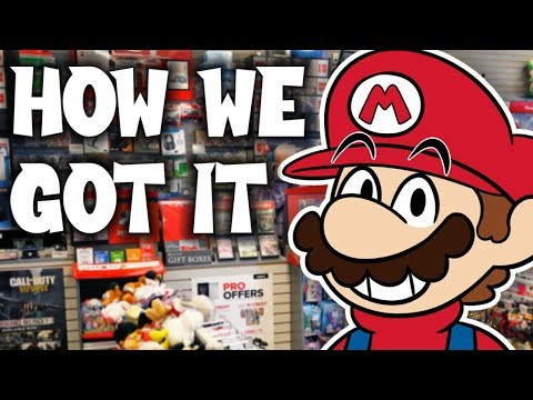 We Had To Sell Switch Games To Get Mario Maker 2...