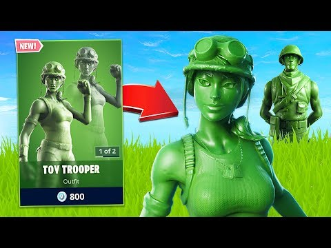 New Toy Soldier Skin! (Fortnite Battle Royale)