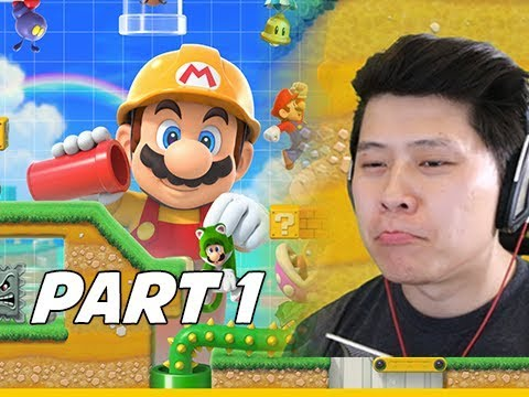 SUPER MARIO MAKER 2 Walkthrough Part 1 - Story Mode Intro (Nintendo Switch)