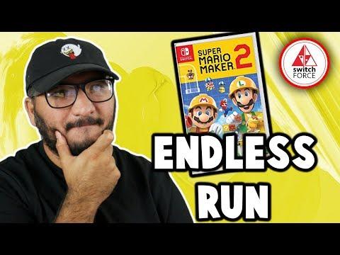 INSANE Mario Maker 2 ENDLESS RUN! Breaking Yoshi Out of Prison!